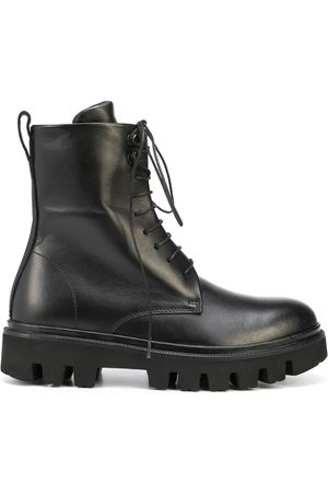 Koio Cortina lace-up leather boots