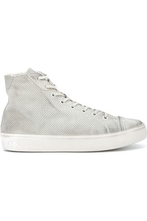 Koio Court perforated distressed-effect sneakers