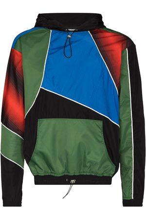 Ahluwalia Patchwork drawstring hooded sweatshirt