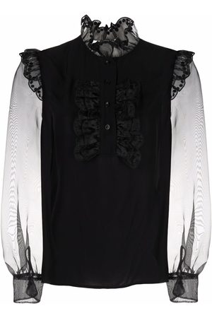 See by Chloé Embroidered long-sleeved blouse