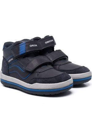 Geox High-top touch-strap sneakers