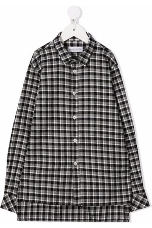 Paolo Pecora Checked oversized shirt