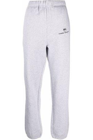 Chiara Ferragni Women Trousers - Eye-motif cotton sweatpants
