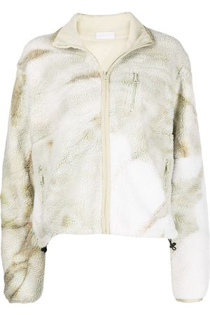 JOHN ELLIOTT Polar tie-dye fleece jacket
