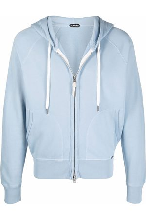 Tom Ford Long-sleeved zipped-up hoodie