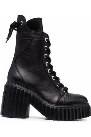 AGL ATTILIO GIUSTI LEOMBRUNI Women Heeled Boots - Tania platform boots