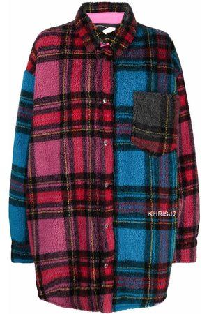 Khrisjoy Checked puffer shirt jacket