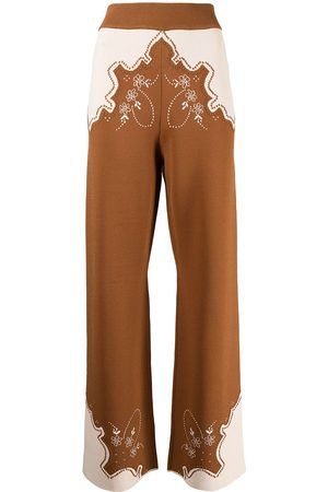 Alice McCall Paris Burning embroidered trousers