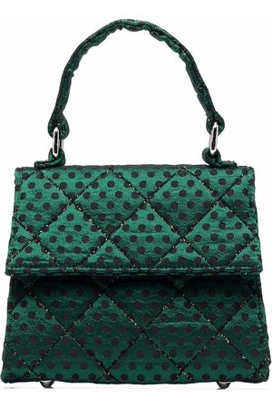 Mimisol Quilted polka-dot tote bag