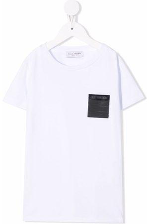 Paolo Pecora Patch-detail cotton T-Shirt
