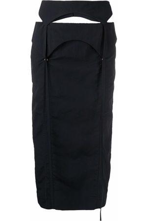 Jacquemus La jupe Draio high-waisted skirt