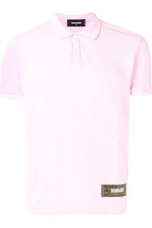 Dsquared2 Men Polo Shirts - Logo patch polo shirt