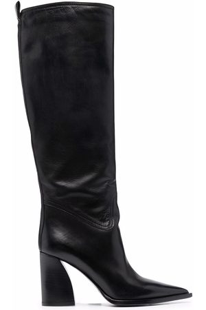 Premiata Pointed-toe knee-length boots