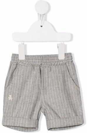 Le Bebé Enfant Baby Shorts - Pinstripe cotton shorts