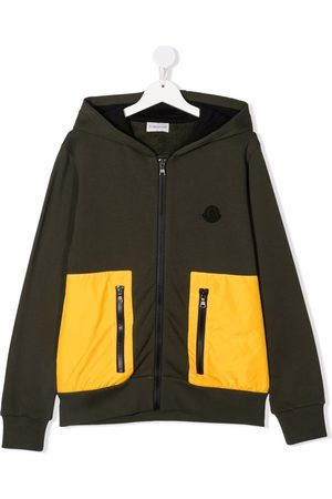 Moncler Two-tone hooded jacket