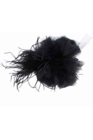 Styland Women Hair Accessories - Gathered-tulle fascinator