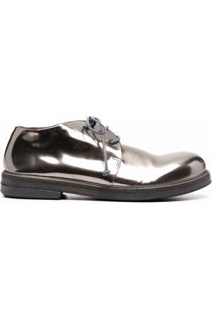 MARSÈLL Women Brogues - Leather metallic-effect oxford shoes
