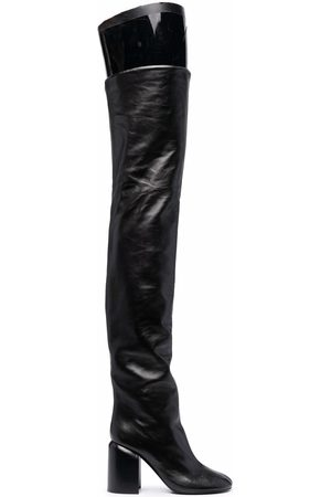 Jil Sander Over-the-knee leather boots
