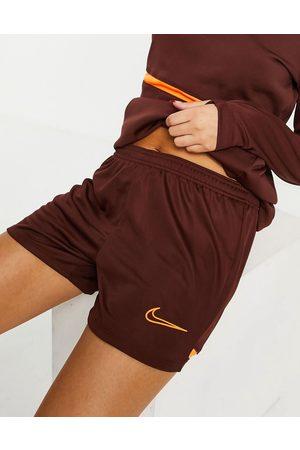 Nike Academy Dri-FIT shorts in bronze