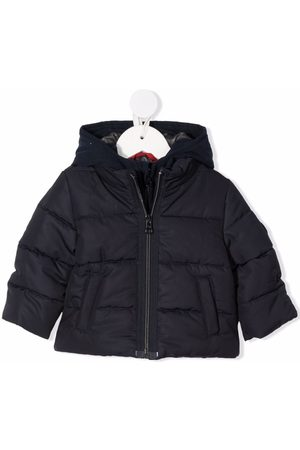 FAY KIDS Hooded padded jacket