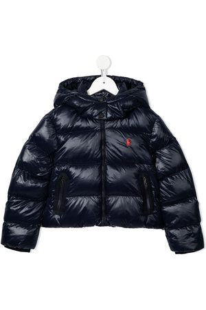Ralph Lauren Embroidered Polo Pony padded jacket