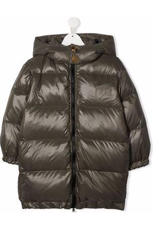 Balmain Hooded padded down coat