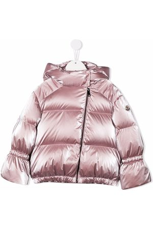 Moncler Girls Jackets - Padded down hooded jacket