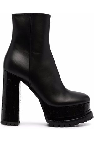 HAUS OF HONEY Platform sole boots