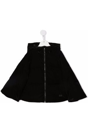 Emporio Armani Girls Hoodies - Hooded zip-up jacket