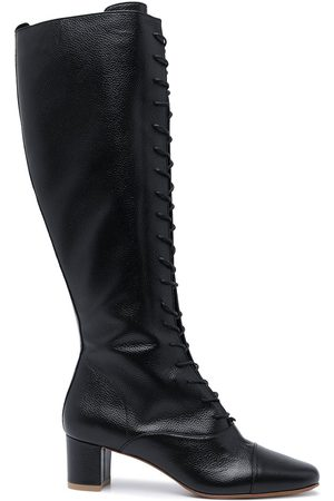 By Far Lada 42 lace-up knee-high boots