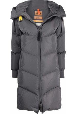 Parajumpers Hooded feather-down padded coat