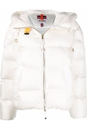 Parajumpers Hooded feather-down puffer jacket