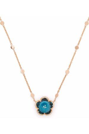 Pasquale Bruni Women Necklaces - 18kt rose gold Bon Ton topaz and diamond necklace