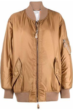 Stella McCartney Women Bomber Jackets - Padded bomber jacket