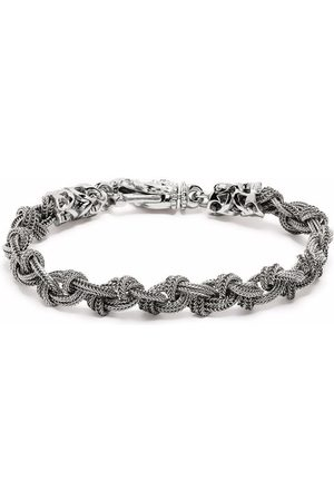 EMANUELE BICOCCHI Braided knot bracelet
