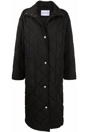 Stand Studio Long quilted coat