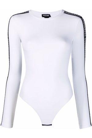 Dsquared2 Logo stripe bodysuit