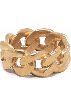 Maison Margiela Men Rings - Chain -plated sterling silver ring