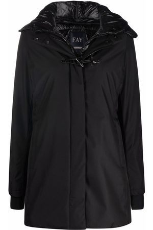 FAY Women Parkas - Concealed hooded coat