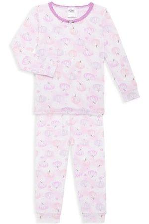 Esme Baby's & Little Girl's Pumpkin 2-Piece Pajama Set