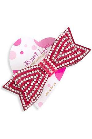 Bari Lynn Boys Bow Ties - Girl's Crystal Holiday Bow Clip