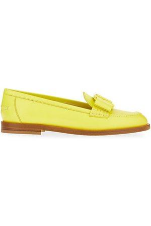 Salvatore Ferragamo Loafers - Vivaldo Monochrome Leather Loafers