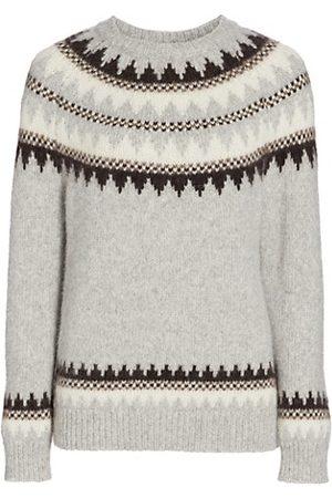 NILI LOTAN Madelene Baby Alpaca Sweater