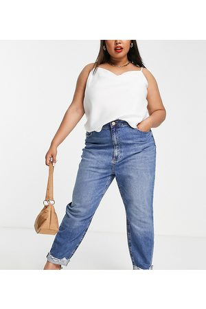 River Island Mom jeans in medium