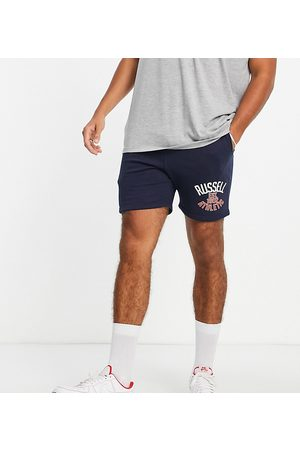 Russell Athletic Est 1902 jersey shorts in navy