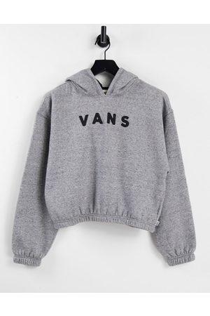 Vans Well Suited crop fleece hoodie in