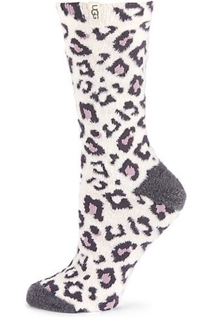 UGG Leslie Graphic Crew Socks