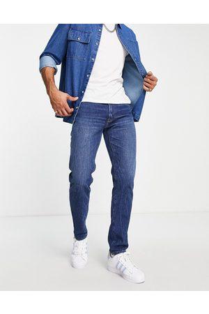 Abercrombie & Fitch Men Slim - 90s slim fit jeans in dark wash