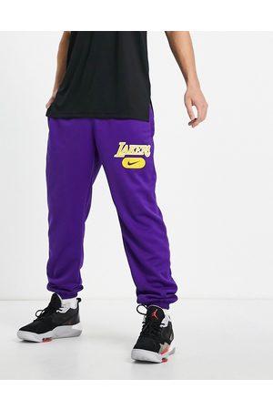 Nike Men Joggers - NBA LA Lakers joggers in