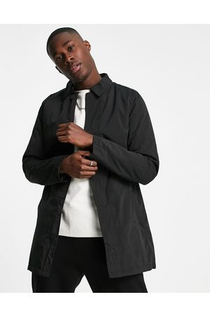 French Connection Men Parkas - Lined mac jacket in